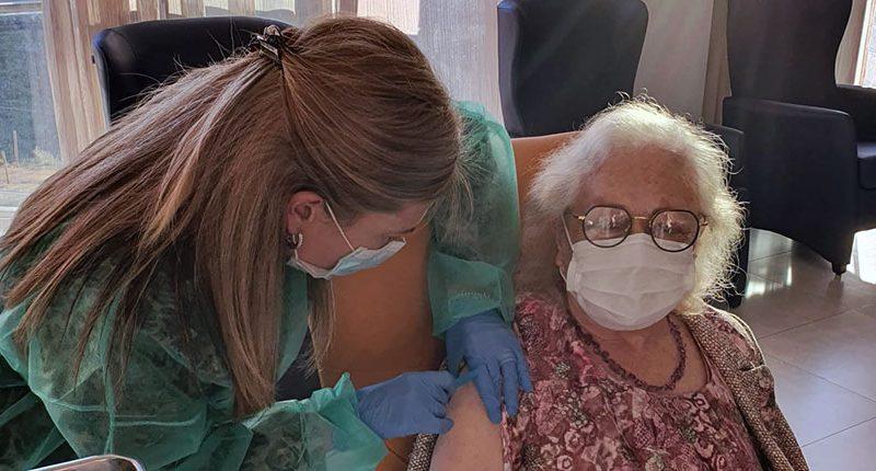 vacuna covid granada residencias de mayores